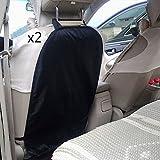 Zhuhaitf 2 Pieces Car Seat Back Anti-trampling Protector Pad Children Kick Mat