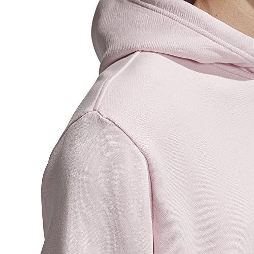 con Adidas rosa cappuccio Xl Originals uomo Trefoil Felpa da trasparente 4qAvvd
