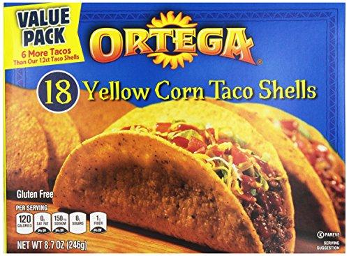 Ortega Yellow Corn Taco Shells, 8.7 (Ortega Taco Dinner)