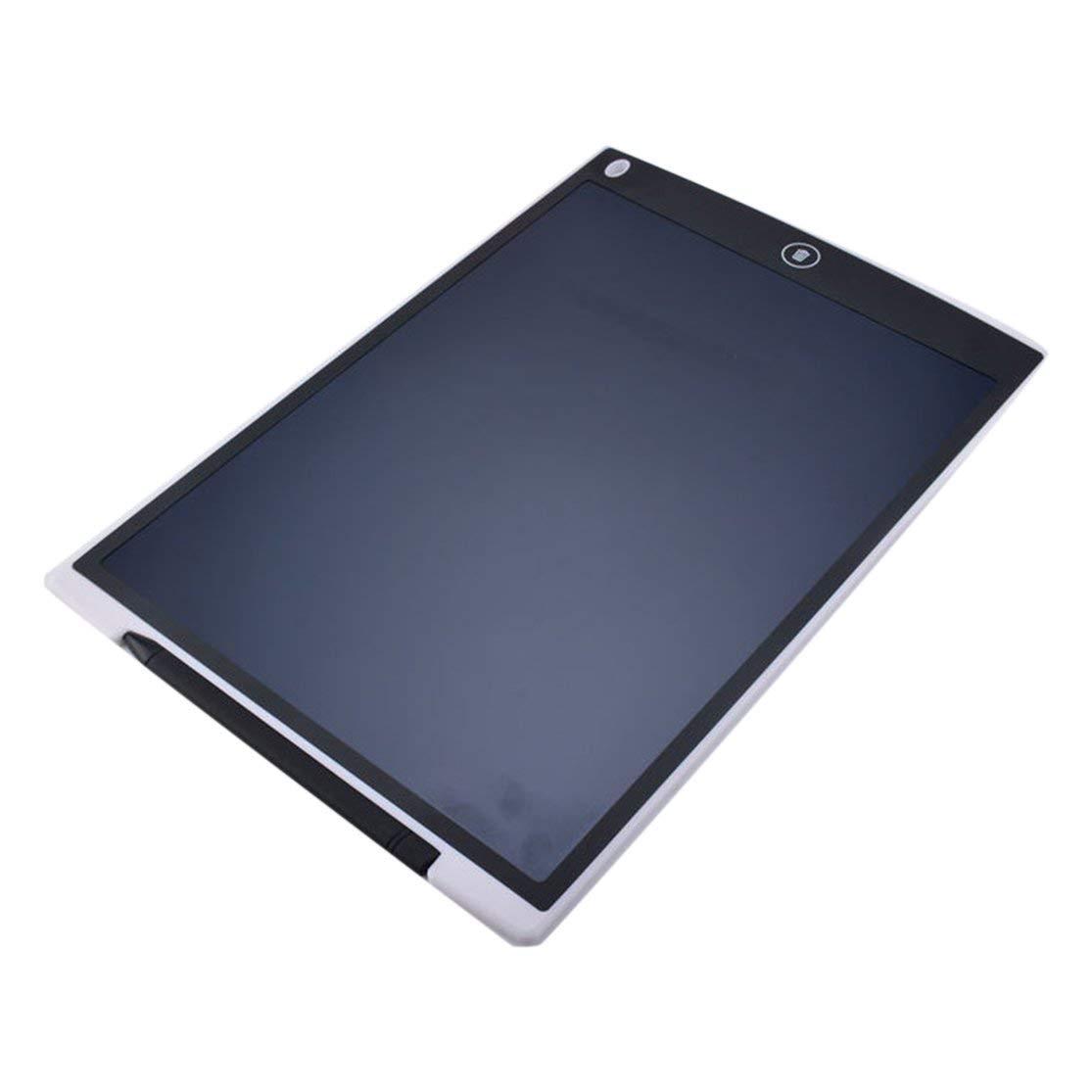 LouiseEvel215 Ultrad/ünne 12 Zoll LCD Digital Schreibtafel Zeichenbrett Sketchpad Elektronische Grafikkarte mit Mauspad Lineal