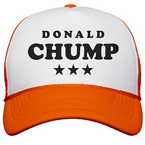 Neon Chump Trump Hat: Neon Snapback Trucker Hat