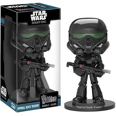 Funko 12304 Wobbler Star Wars Rogue One Imperial Death Trooper: Funko Wacky Wobbler:: Toys & Games