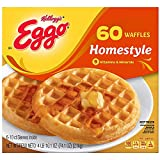 Evaxo Eggo Homestyle Waffles, Frozen