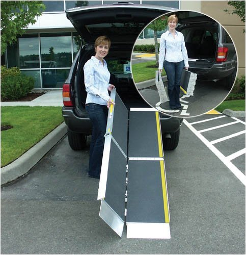 `Trifold Advantage Series Ramp 10' (Wheelchair Minivans Ramps)