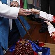 Amazon.com: coreano tradicional tallado boda Gansos de ...