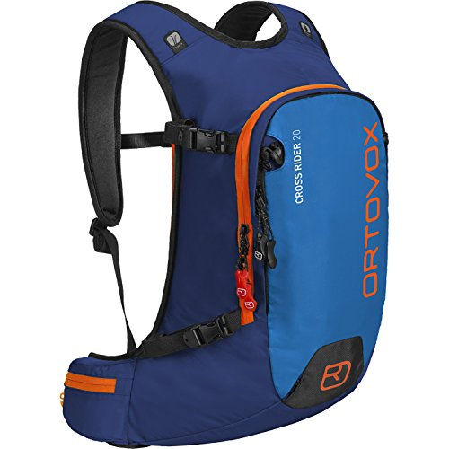 Ortovox Herren Skirucksack Cross Rider, strong blue, 31 x 14 x 54 cm, 20 Liter, 4606100002