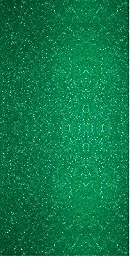 Siser EasyPSV Glitter Permanent Self Adhesive Craft Vinyl 12 x 6 Roll (Emerald Envy Green)