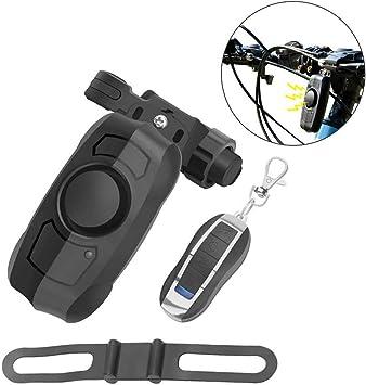 GuDoQi Antirrobo Alarma de Bicicleta Inalámbrico USB Recargable ...