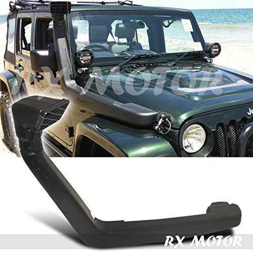 Rxmotor Jeep Wrangler Jk 3.8l Cold Air Intake with Snorkel 2007 2008 2009 2010 2011