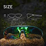 TOREGE Polarized Sports Sunglasses with 3
