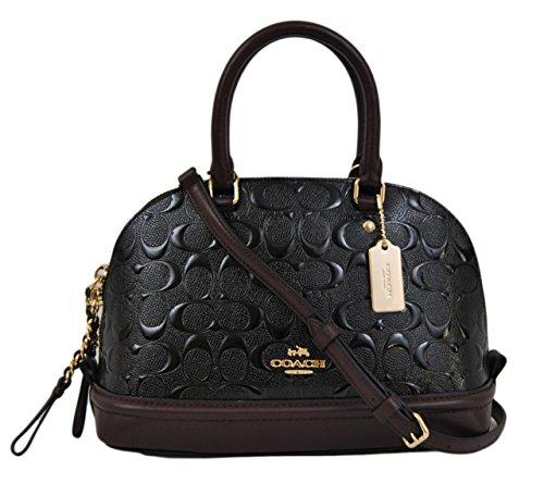 Black Patent Leather Coach Bag - 3