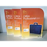 Microsoft Office Home and Business 2010 DVD + Genuine Product Key & COA Sticker