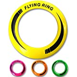 Amazing Frisbee Rings [4 PACK] Don't Hurt & Fly Straight - Get Outside & Play! - Replace Screen Time with Healthy Family Fun