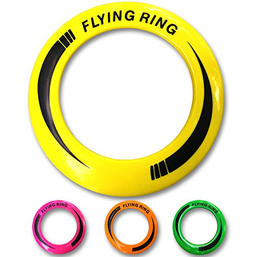 Amazing Frisbee Rings [4 PACK] Don't Hurt & Fly Straight - Get Outside & Play! - Replace Screen Time with Healthy Family Fun by Aixii