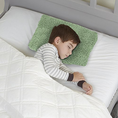 iDEAL Comfort Mftp-022_SGE Soft Plush Sherpa Memory Foam Mini Fun Travel Toddlers-Perfect As Car Airplane Or As Kid Nap Pillow