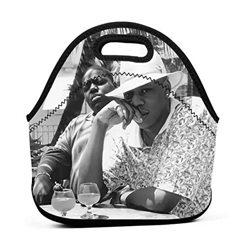Jay-Z & Biggie- Brooklyn's Finest Anime Lunch Bag Lunch Box Carry Case Handbags Portable Bento