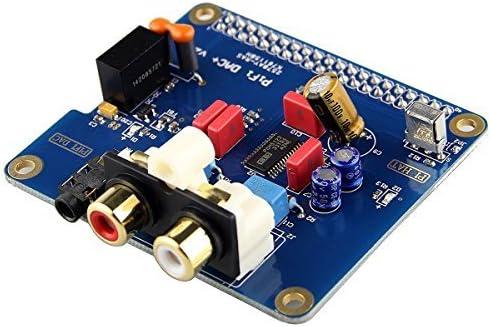 Acrylic Case for Raspberry pi 3 2 Model B B V2.0 Board SC08C SC08C-DAC-UK HiFi Digital Audio Sound Card Kuman I2S Interface PiFi Digi DAC