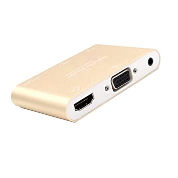 D DOLITY 1x Convertidor HD HDMI Conecta con iPhone 6/7 Android ...