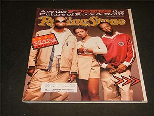 Jam Pearl Rolling Stone - Rolling Stone Sep 1996 Pearl Jam, Fugees, Black Blue