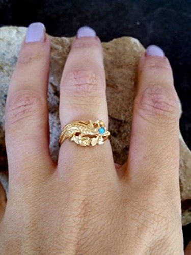 Lizard Ring, Gold Reptilian Ring,Snake ring,Dragon ring, Opal Ring, Vintage Style,Birthday Gifts, Wedding Jewelry,