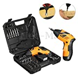 concrete mixer replacement motor - 45in1 Power Tool Rechargeable Cordless Electric Screwdriver Drill Kit EU Plug