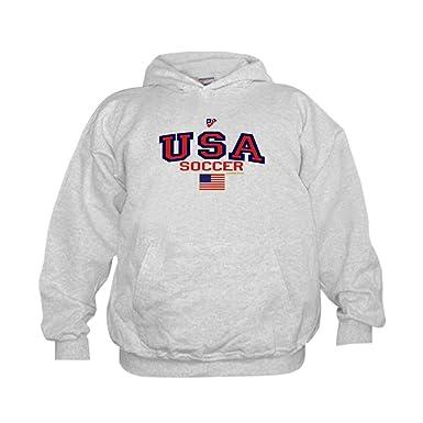 4dcb77e3e52a Amazon.com  CafePress USA American Soccer Hoodie  Clothing