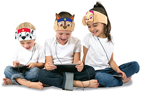 Paw Patrol Kids Headphones by CozyPhones - Volume Limited with Ultra-Thin Speakers & Comfortable Soft Fleece Headband - Perfect Children's Earphones for School, Home and Travel – SKYE Photo #6