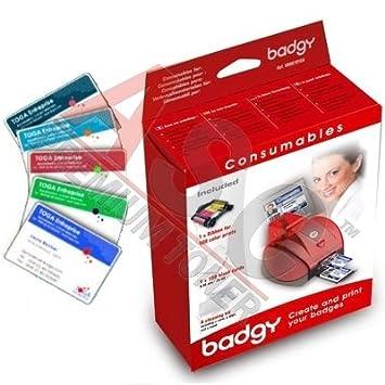 Pack Consumibles 1 con Tarjetas finas para la Impresora de ...