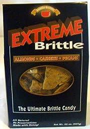 Brittle Brittle Extreme Brittle - Brittle with Almonds, Cashews and Pecans - 32 oz