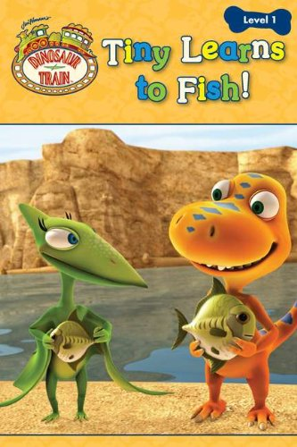 Tiny Learns to Fish! (Dinosaur -