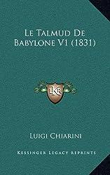Le Talmud de Babylone V1 (1831)