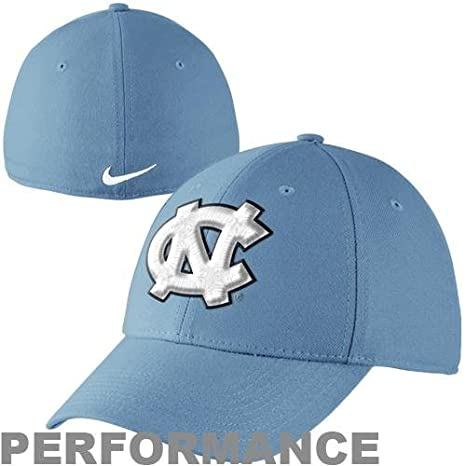 purchase cheap 01036 9111e Image Unavailable. Image not available for. Color  Nike North Carolina Tar  Heels Dri-FIT Swoosh Flex Cap