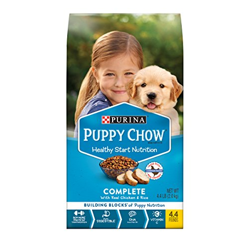 Where to find purina puppy chow complete with chicken?
