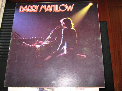 Barry Manilow (Concert Tour Program Book , Barry Manilow by Lee Gurst , LADY FLASH IMCLUDED)