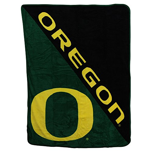 (The Northwest Company NCAA Collegiate Half Tone Super Soft Plush Throw Blanket (Oregon Ducks))