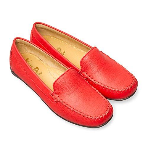 Mocassins Femme Van Pour Red Dal Zw664SAq