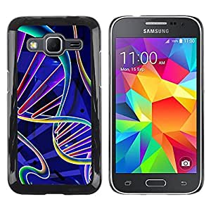 iKiki Tech / Estuche rígido - Science Biology Life Scientist - Samsung Galaxy Core Prime SM-G360
