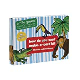 C.R. Gibson Emily Green Make-A-Card Stationery Set, How Do You Zoo