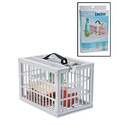 Portable Fridge Locker (7 1/2'' x 11 x 7 1/2'') Food Safe Box. by Fun Express