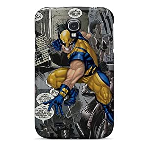 NikRun Scratch-free Phone Case For Galaxy S4- Retail Packaging - Wolverine Comic
