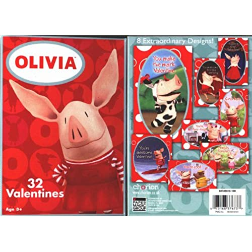 OLIVIA Valentines 1 Box (32 cards) Sales