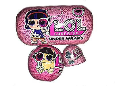 L.O.L. Surprise! Under Wraps Eye Spy Series 4-1 Bundle with Pets Wave 2 and Fashion Crush