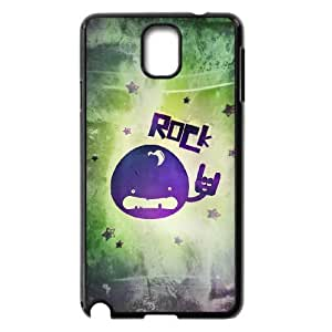 Case Of Rock & Roll customized Bumper Plastic case For samsung galaxy note 3 N9000