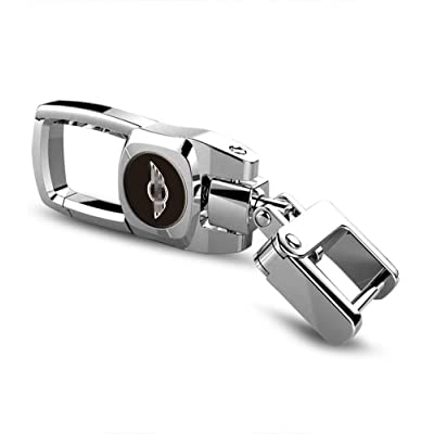 Car Key Fob Key Chain Heavy Duty Keychain for Mini Cooper Countryman F60 S Jcw Paceman R56 R53 R55: Automotive