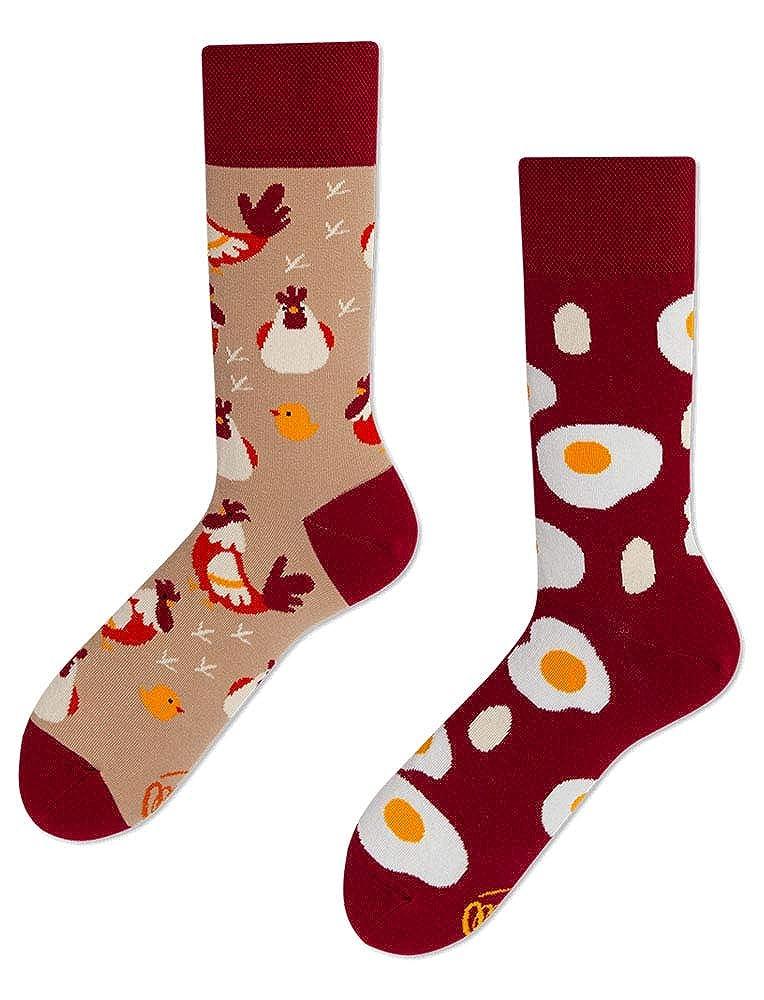 Egg and Chicken Many Mornings unisex Socken