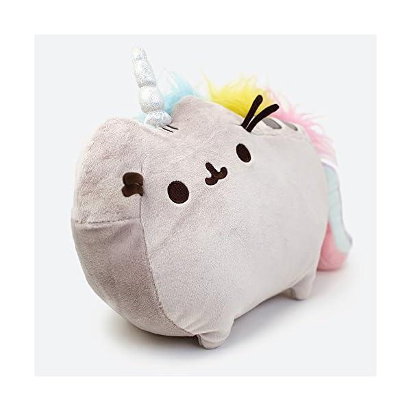 """GUND Pusheenicorn Plush Stuffed Animal Rainbow Cat Unicorn, 13"""" 5"""