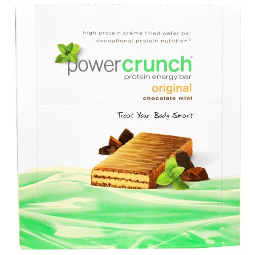 BIONUTRITIONAL RESEARCH GROUP, Bnrg Power Crunch Chocolate Mint - Crunch Power Cookies Bionutritional