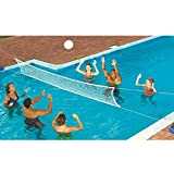 Dealkoo New Swimming Pool Fun Game Volleyball Net Water Set