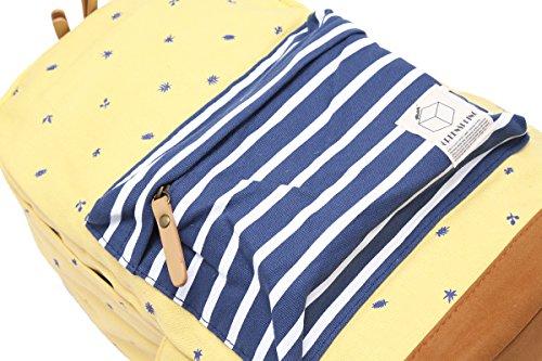 Bordado Prácticos Luz De Damara Azul Bolsa Lienzo Hombros Viajes Estudiante XqxwBxUp