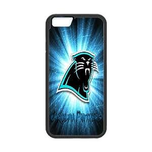 iphone6s 4.7 inch Phone Case Black Carolina Panthers JJL6388377